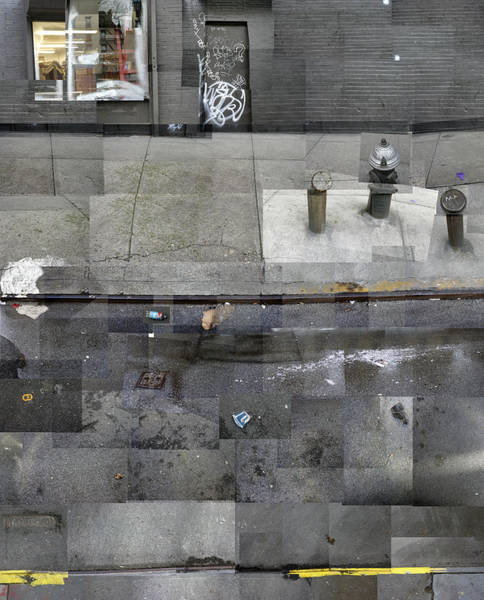 Photograph - Gutter Montage by Dave Beckerman