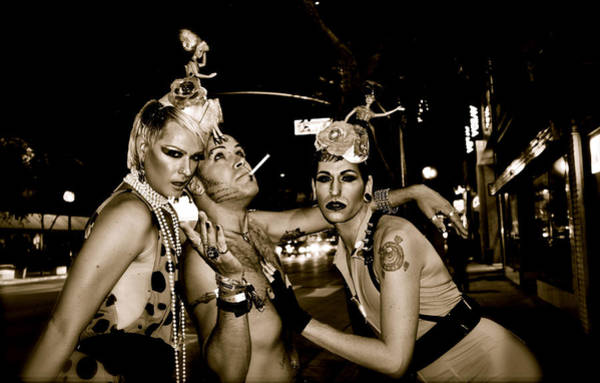 Blvd Photograph - Guys And Dolls by Amber Abbott