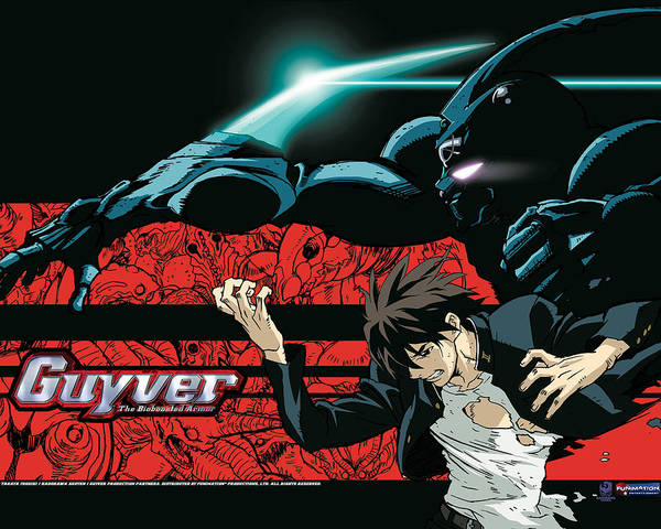 Pattern Digital Art - Guyver The Bioboosted Armor by Maye Loeser