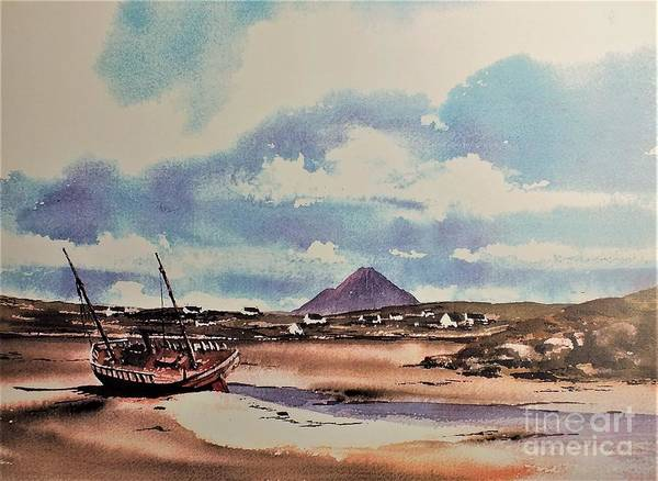 Painting - Gweedore by Val Byrne