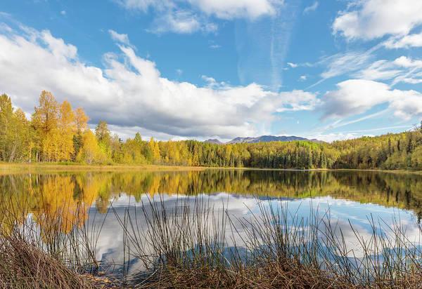 Elmendorf Photograph - Gwen Lake Autumn One by Ray Bulson