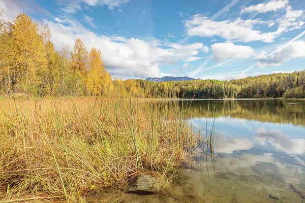 Elmendorf Photograph - Gwen Lake Autumn Two by Ray Bulson