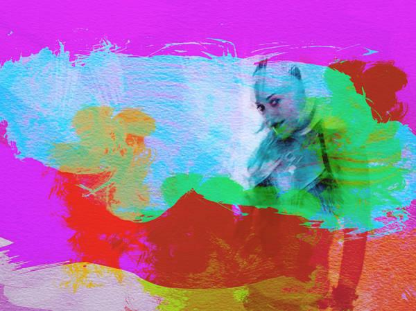 Irish Painting - Gwen Stefani by Naxart Studio
