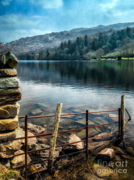 Photograph - Gwynant Lake by Adrian Evans
