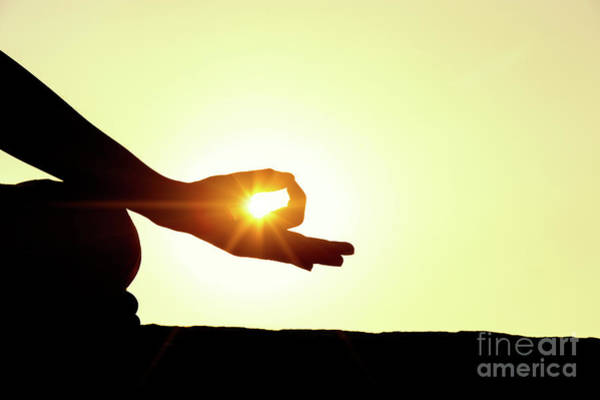 Oneness Photograph - Gyan Mudra by Tim Gainey