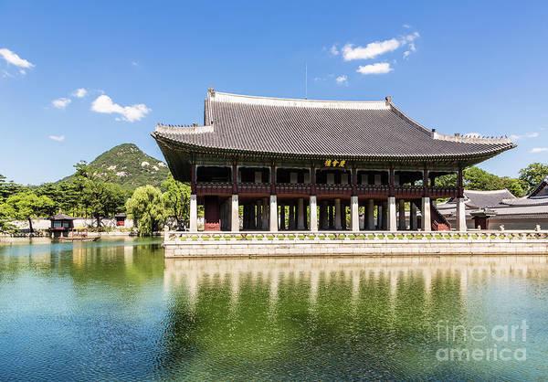 Photograph - Gyeongbokgung Palace, Seoul  by Didier Marti