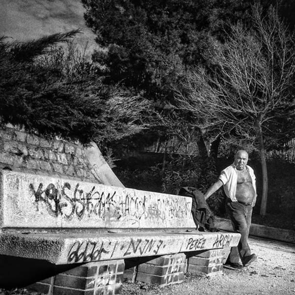 Wall Art - Photograph - Gymnast #streetphotography by Rafa Rivas
