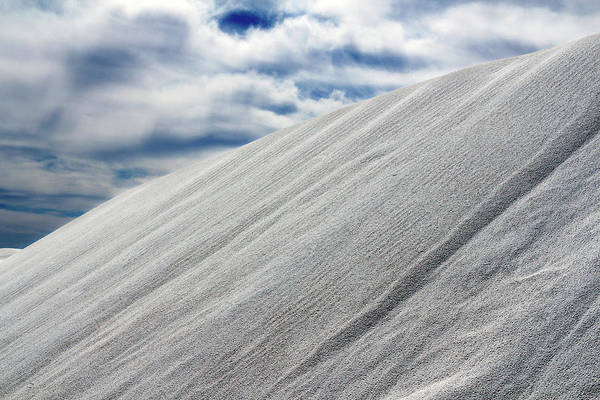 Photograph - Gypsum Sand Dunes Number 2 by Nicholas Blackwell