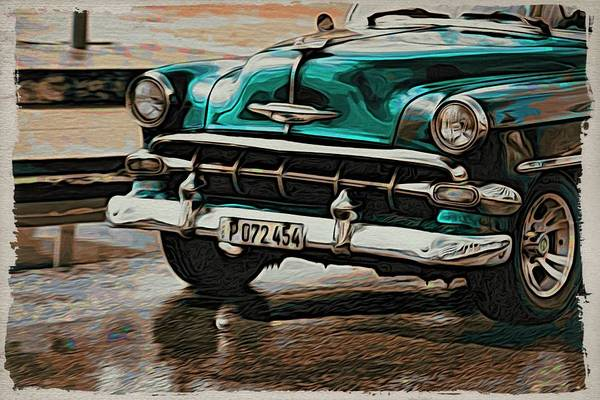 Photograph - Havana Teal by Alice Gipson