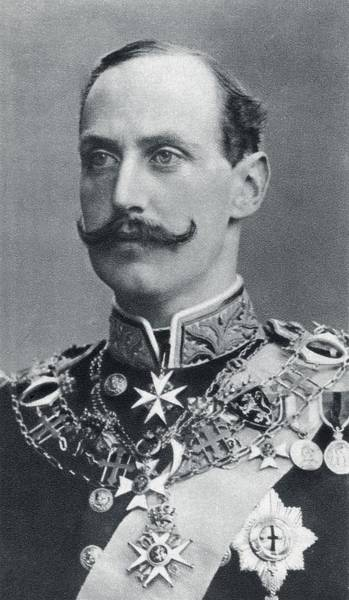 Wall Art - Drawing - Haakon Vii, Prince Carl Of Denmark And by Vintage Design Pics