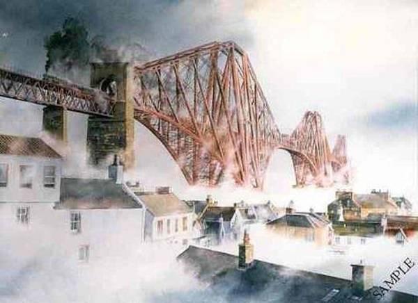 Fife Painting - Haar On The Forth Edinburgh by Alan Reed