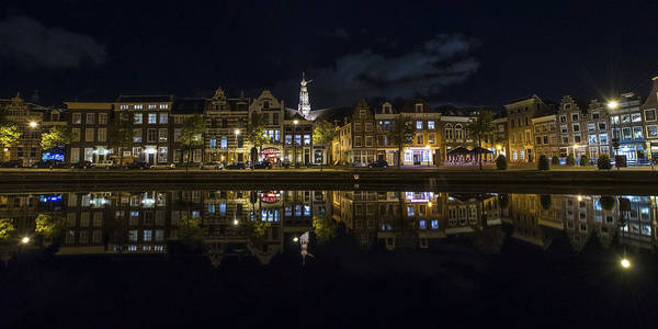 Cathedral Photograph - Haarlem Night by Chad Dutson