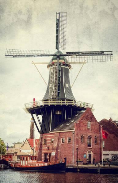 Photograph - Haarlem Windmill II by Joan Carroll