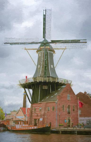 Photograph - Haarlem Windmill by Joan Carroll