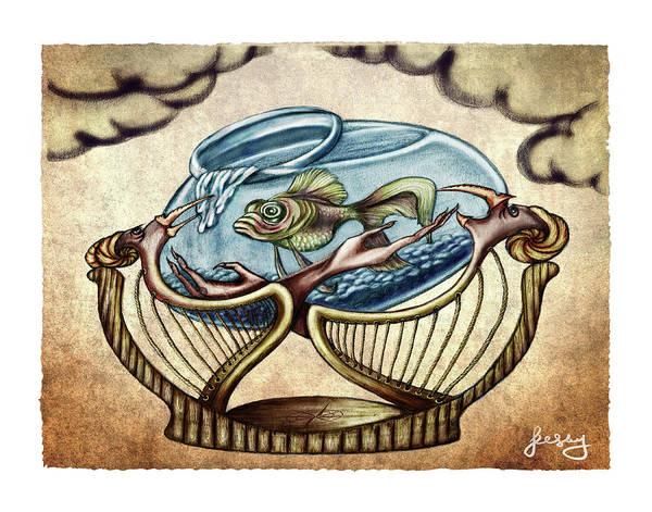 Harp Digital Art - Haarp by Jelena Evans