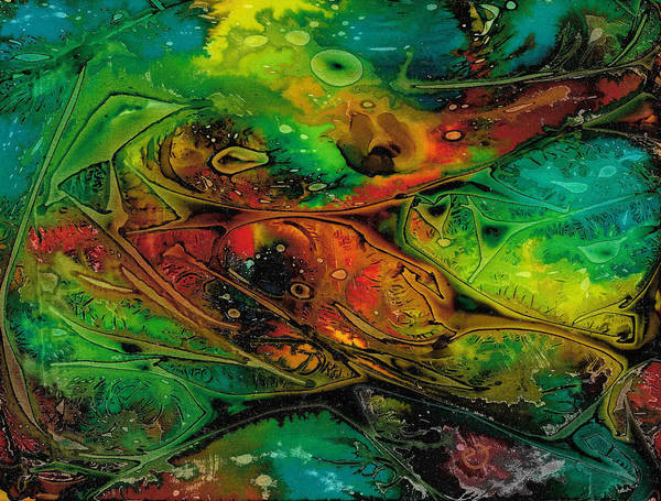 Painting - Habitat Paradigm by Eli Tynan