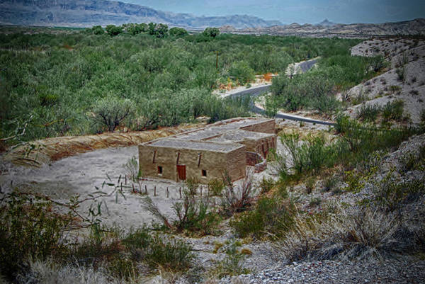 Photograph - Hacienda In The Desert by Judy Hall-Folde