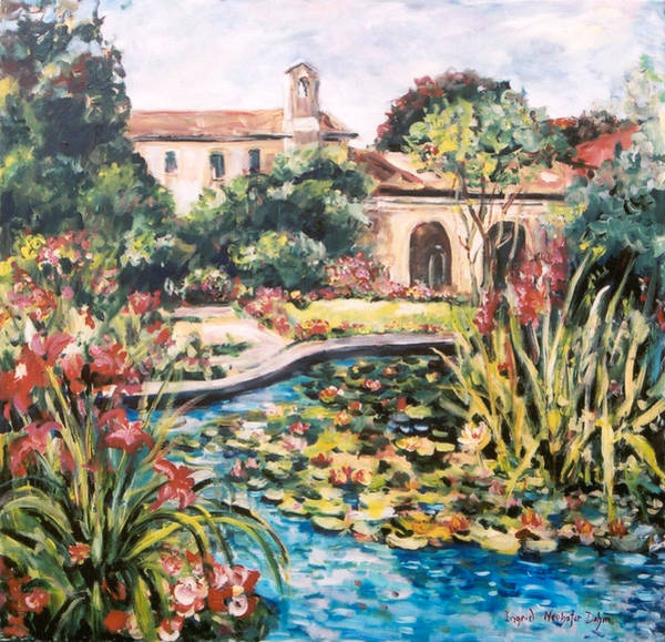 Painting - Hacienda by Ingrid Dohm