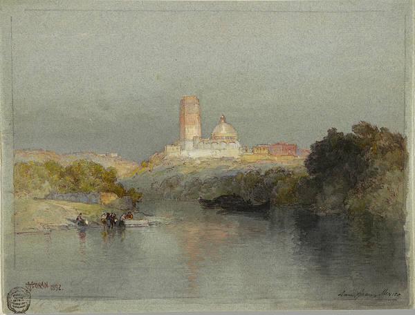 Hacienda On The Lerma River, San Juan, Mexico, 1892 Art Print