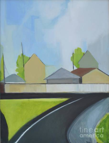Painting - Hackensack Exit by Ron Erickson