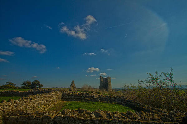 Southend Photograph - Hadleigh Castle by David French