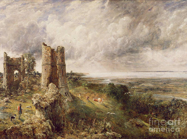 1837 Painting - Hadleigh Castle by John Constable