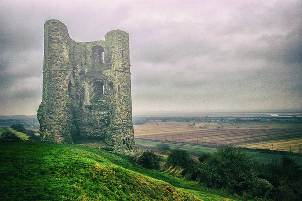 Essex Photograph - Hadleigh Castle by Martin Newman