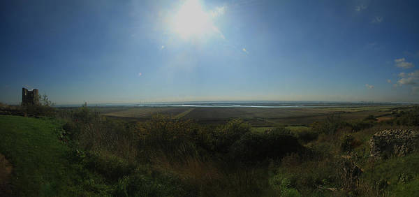 Southend Photograph - Hadleigh Castle Panarama by David French