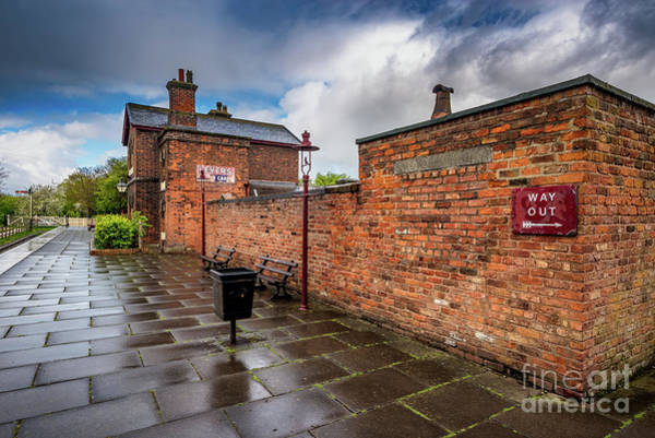 Wall Art - Photograph - Hadlow Victorian Railway Station by Adrian Evans