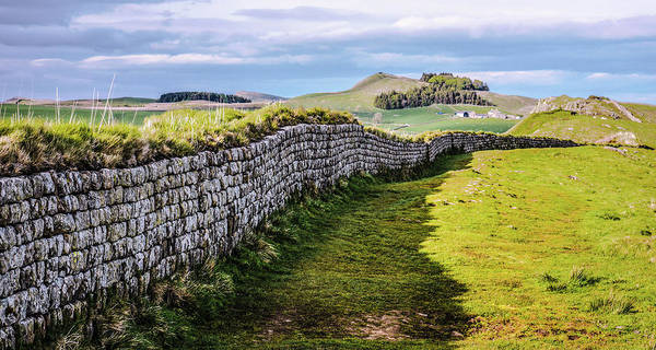 Photograph - Hadrians Wall Close Up by Lexa Harpell