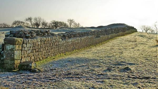 Pattern Digital Art - Hadrian's Wall by Maye Loeser