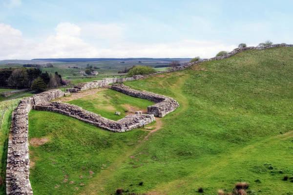 Hadrians Wall Photograph - Hadrian's Wall - Northumberland by Joana Kruse