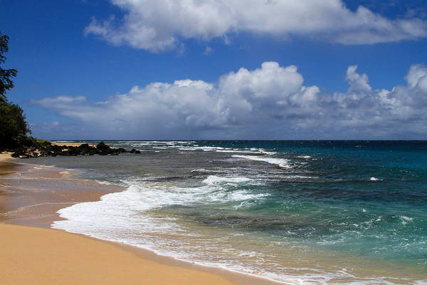 Photograph - Haena Beach 2 by Bonnie Follett