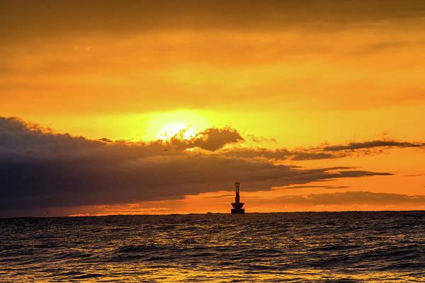 Photograph - Haeundae Beach Sunset by Max Neivandt