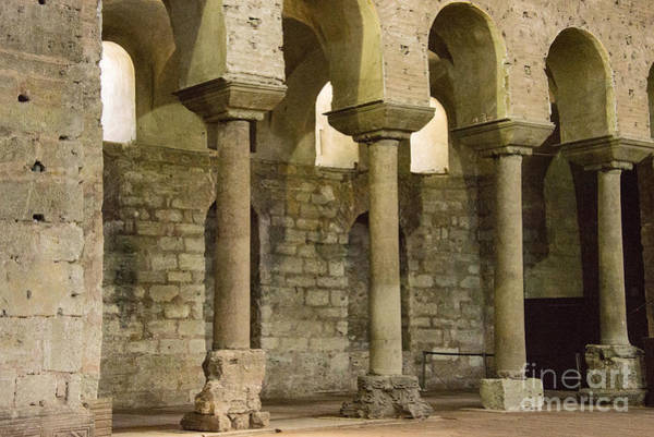 Wall Art - Photograph - Hagia Irene Interior Columns by Bob Phillips