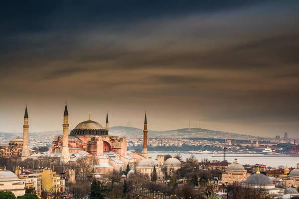 Sancta Sophia Photograph - Hagia Sophia by Michael Patakos