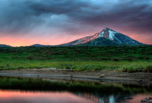 Photograph - Hahns Peak Dramatic by John McArthur