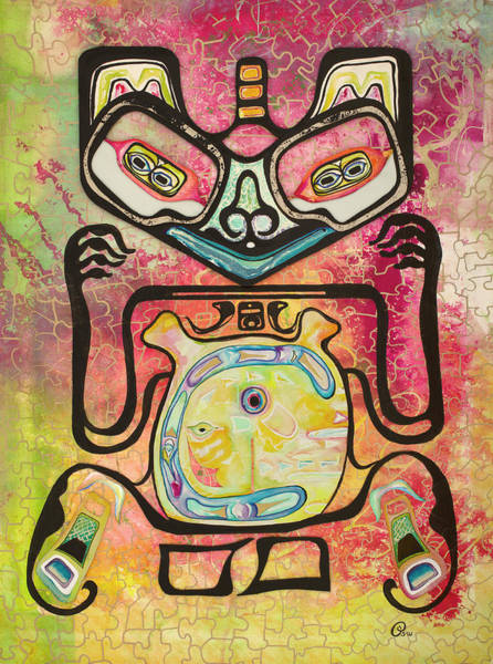 Painting - Haida by Pat Saunders-White