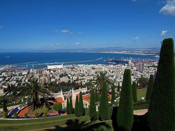 Haifa Bay 2 Art Print
