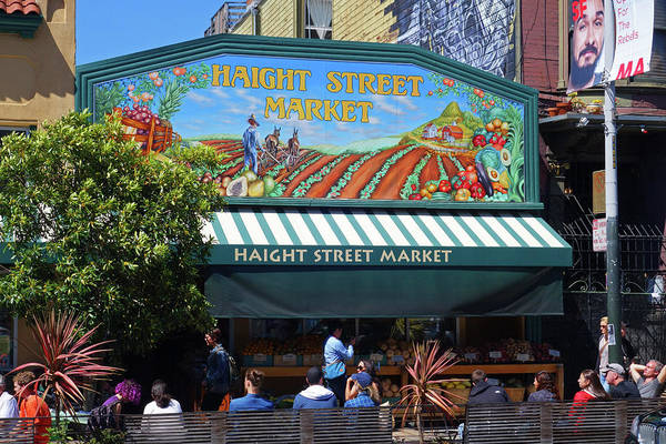 Photograph - Haight Steet Market San Francisco by Toby McGuire