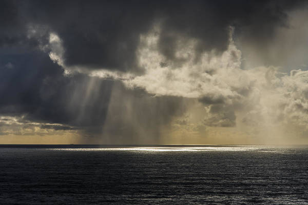 Photograph - Hail At Sea by Robert Potts