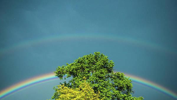 Photograph - Hail Rainbows by Tyson Kinnison