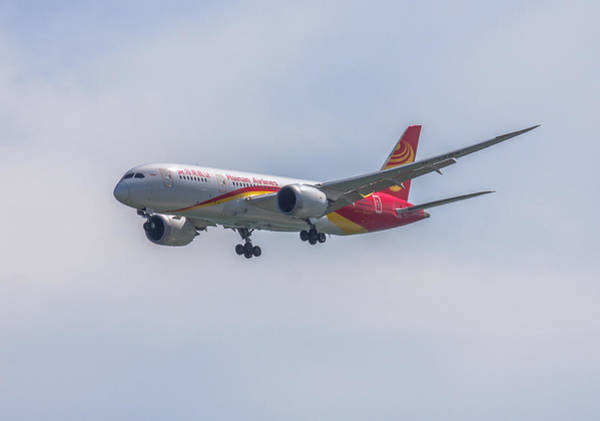 Photograph - Hainan Airlines Dreamliner by Brian MacLean