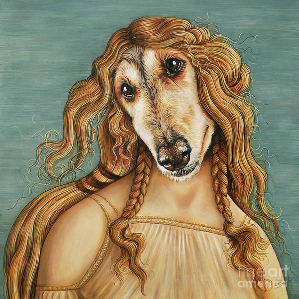 Hair Of The Dog Wall Art - Painting - Hair Of The Dog by Leigh Banks