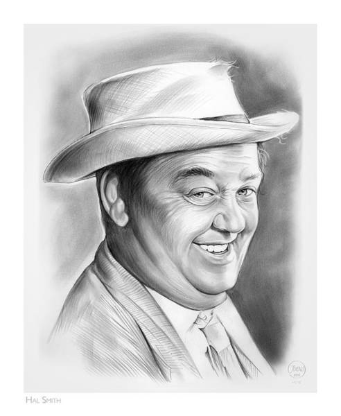 Wall Art - Drawing - Hal Smith by Greg Joens