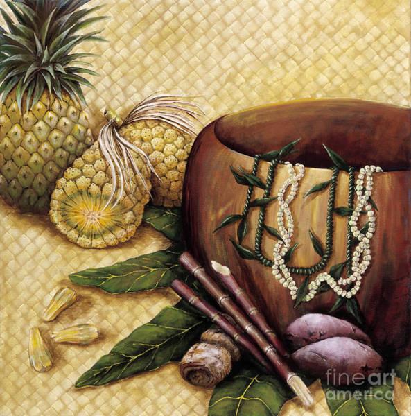 Potato Painting - Hala Kahiki by Sandra Blazel - Printscapes
