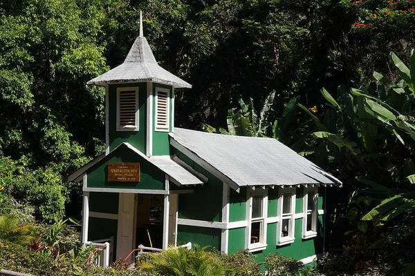 Wall Art - Photograph - Halawa's Little Church by Kevin Smith