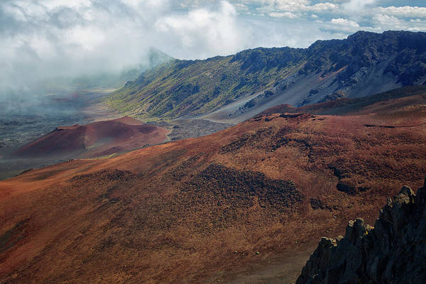 Photograph - Haleakala Crater 2 by Randy Hall