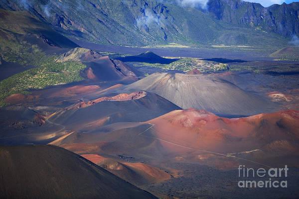 Expanse Photograph - Haleakala Crater Patterns by Ron Dahlquist - Printscapes