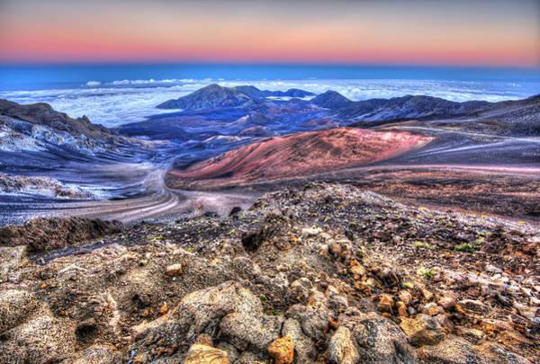 Wall Art - Photograph - Haleakala Crater Sunset Maui II by Shawn Everhart